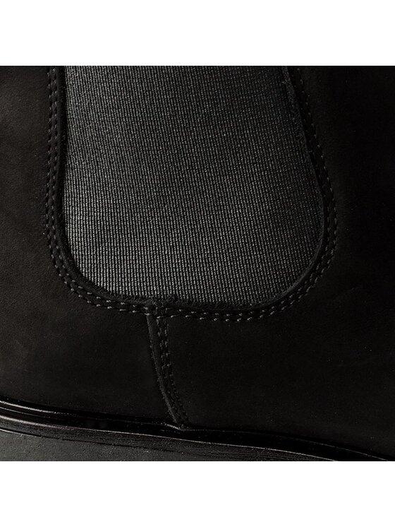 Gino Rossi Gino Rossi Členková obuv s elastickým prvkom Donata DSH531-R78-AG00-9900-F Čierna