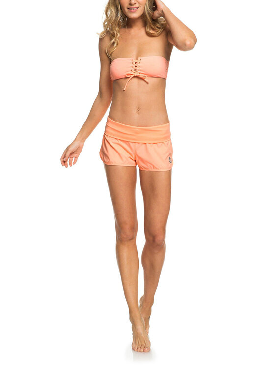 Roxy Roxy Shorts da mare ERJBS03078 Arancione Regular Fit