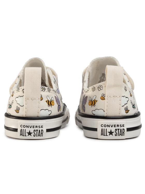 Converse Converse Plátěnky Ctas 2V Ox 767899C Bílá