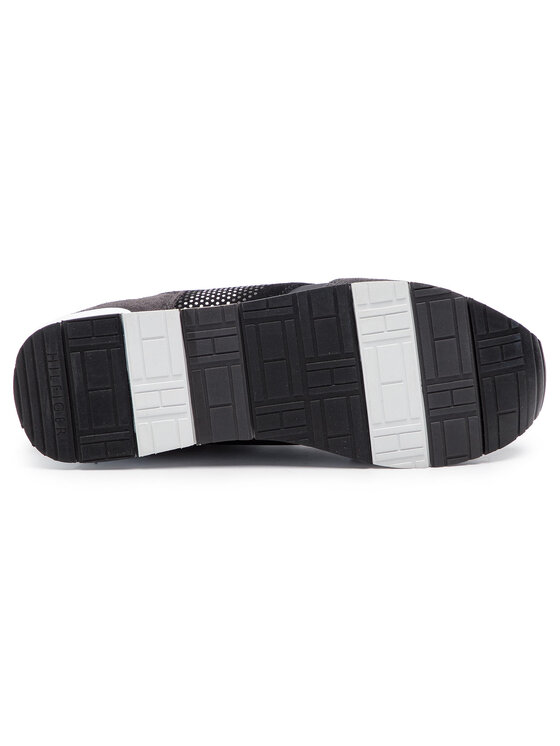 Tommy Hilfiger Tommy Hilfiger Sneakers Corporate Material Mix Runner FM0FM02056 Schwarz