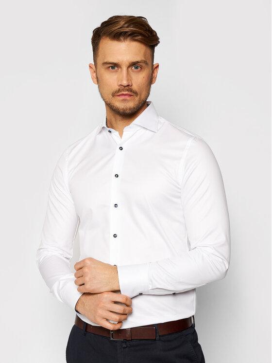 Stenströms Marškiniai 784901 2317 Balta Slim Fit