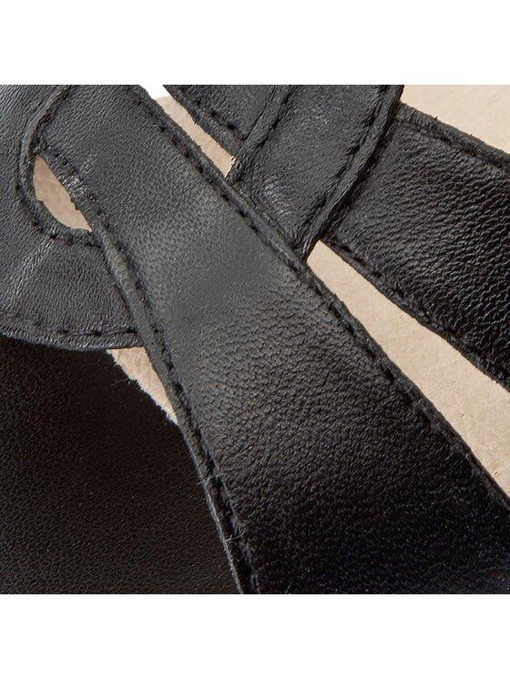 Caprice Caprice Sandały 9-28201-28 Czarny