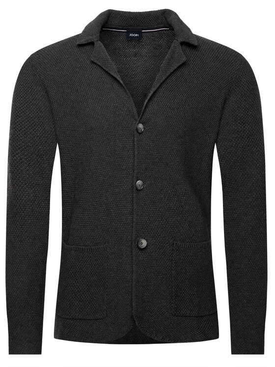 Joop! Joop! Sweter 30017415 Szary Regular Fit