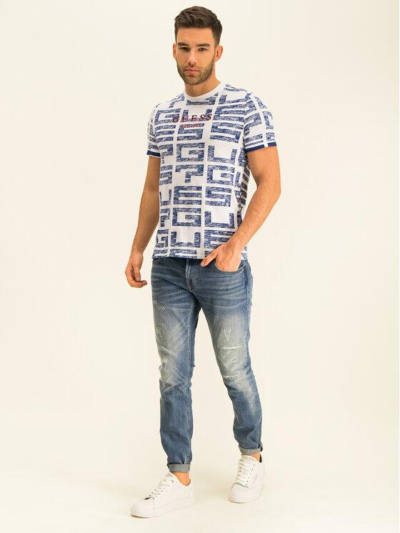 Guess Guess T-shirt M01I76 K6XN0 Bianco Slim Fit
