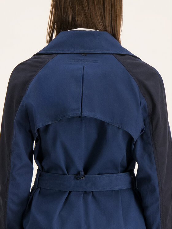 G-Star Raw G-Star Raw Trench-coat D14770-B300-1305 Bleu marine Regular Fit
