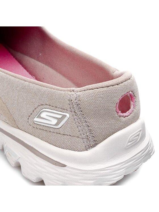 Skechers Skechers Παπούτσια Go Walk 2-Super Sock 13955/TPE Μπεζ