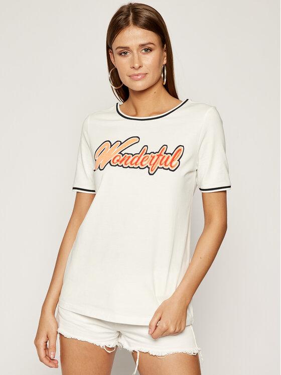 Laurèl Marškinėliai 42008 Balta Regular Fit
