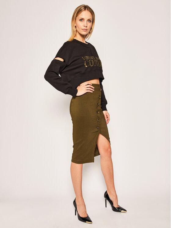 Versace Jeans Couture Versace Jeans Couture Mikina B6HVA74T Černá Regular Fit