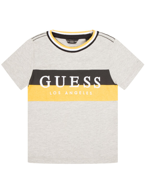 Guess Guess T-shirt N01I07 K8650 Gris Regular Fit