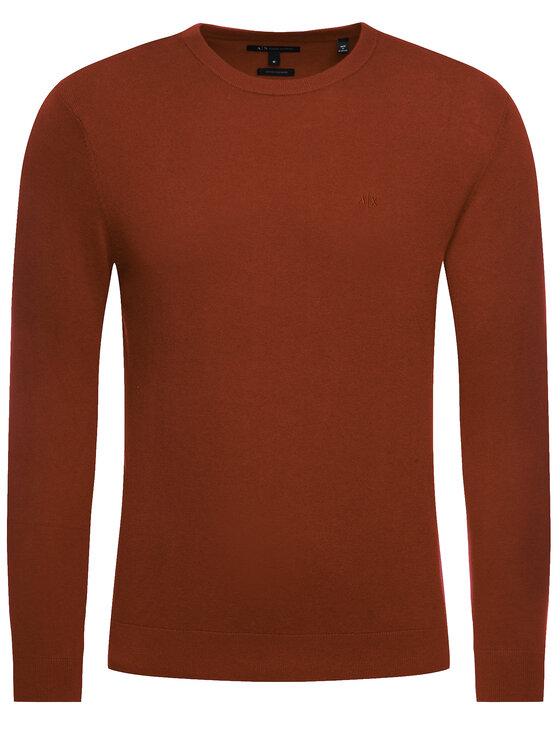 Armani Exchange Armani Exchange Sweater 6GZM6A ZM8BZ 1481 Piros Regular Fit