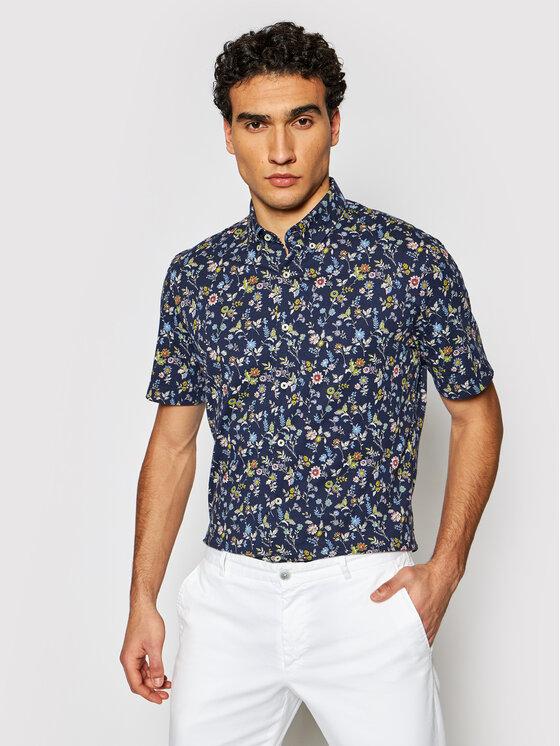 Pierre Cardin Marškiniai 3621/000/27483 Tamsiai mėlyna Slim Fit