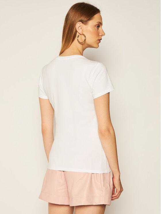 Liu Jo Liu Jo T-Shirt WF0531 J5003 Bílá Regular Fit