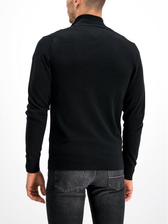 Tommy Hilfiger Tommy Hilfiger Πουλόβερ Organic Cotton MW0MW10864 Μαύρο Regular Fit