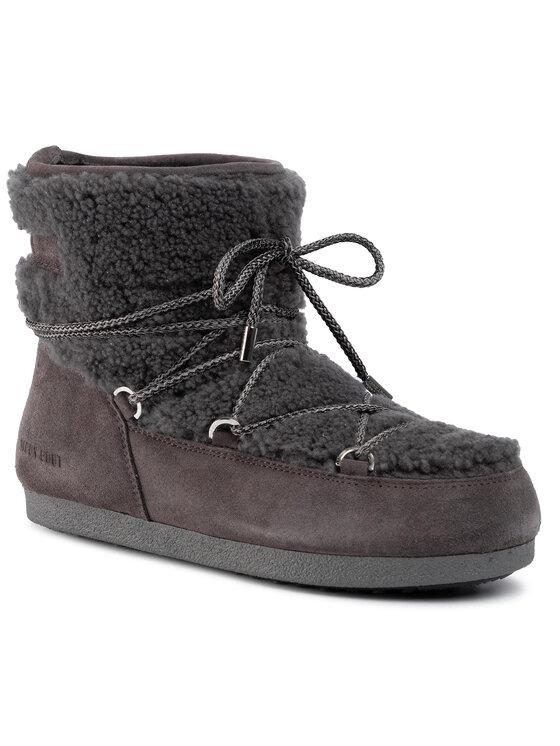 Moon Boot Sniego batai Far Side Low Shearl. 24200800001 Pilka