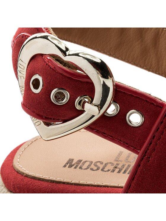 LOVE MOSCHINO LOVE MOSCHINO Espadrilles JA16397I05JF150A Rouge