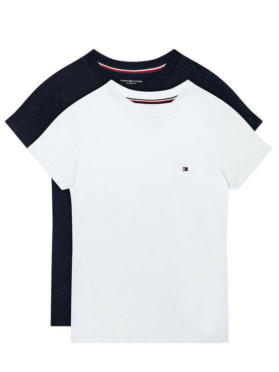 Tommy Hilfiger 2 marškinėlių komplektas UG0UG00307 Tamsiai mėlyna Regular Fit