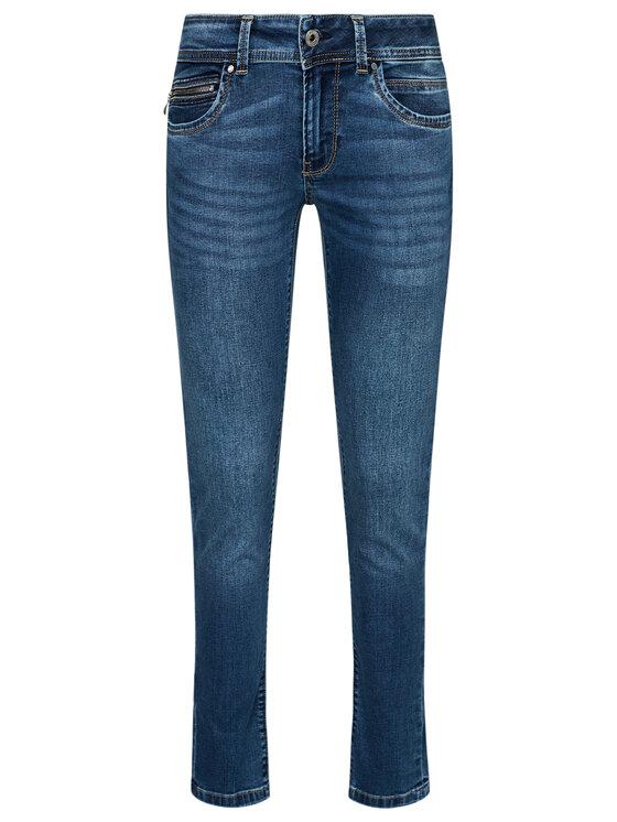 Pepe Jeans Pepe Jeans Jeansy New Brooke PL200019 Tmavomodrá Slim Fit