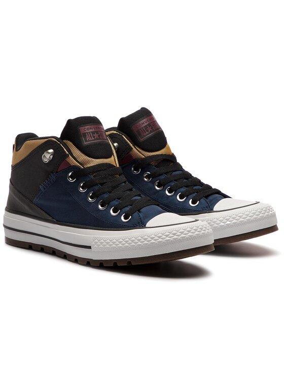 Converse Converse Trampki Ctas Street Boot Hi 161471C Granatowy