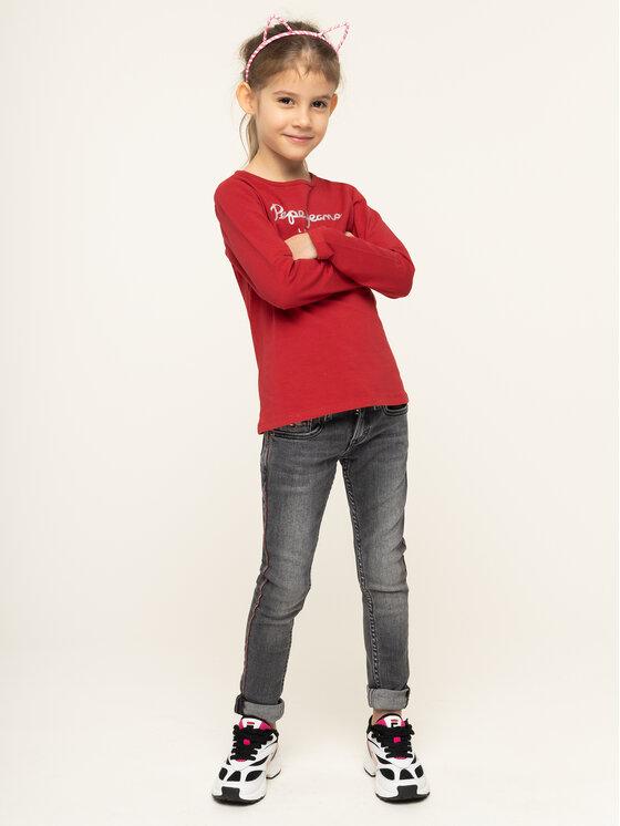 Pepe Jeans Pepe Jeans Bluzka Hana PG501364 Czerwony Regular Fit