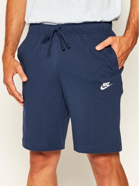 Nike Nike Szorty sportowe Sportswear Club Fleece BV2772 Granatowy Standard Fit