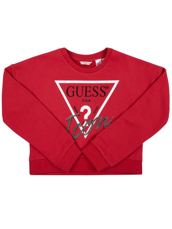 Guess Guess Džemperis J91Q10 K8D80 Raudona Regular Fit