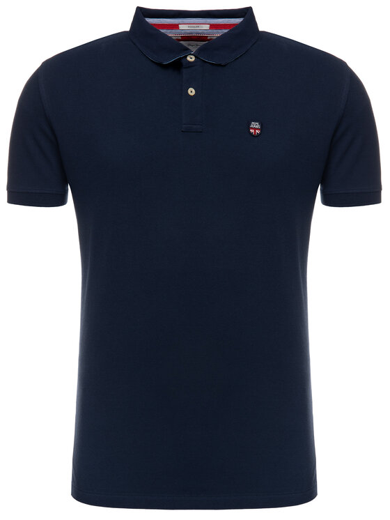 Pepe Jeans Pepe Jeans Polo PM541208 Blu scuro Regular Fit