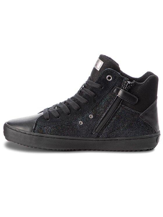 Geox Geox Sneakersy J Kalispera G. D J844GD 0TCBC C9999 D Černá