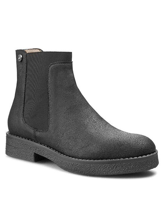 Liu Jo Liu Jo Členková obuv s elastickým prvkom Beatle Doriane S65079 P0227 Čierna
