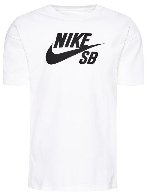 Nike Nike T-Shirt SB Logo Skate CV7539 Biały Loose Fit