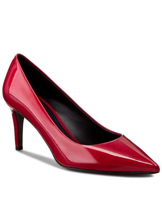 Marella Marella Pantofi cu toc subțire Yunak 65210162 Roșu