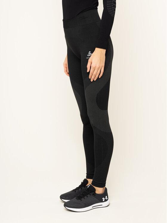 Odlo Odlo Leggings Performance Warm Bl 188051 Schwarz Slim Fit