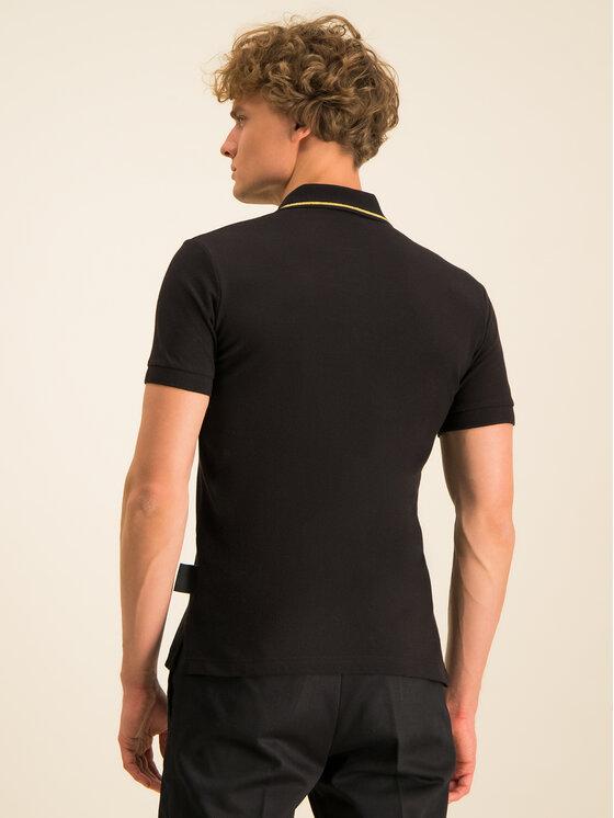 Versace Jeans Couture Versace Jeans Couture Tricou polo B3GVA7P4 Negru Regular Fit