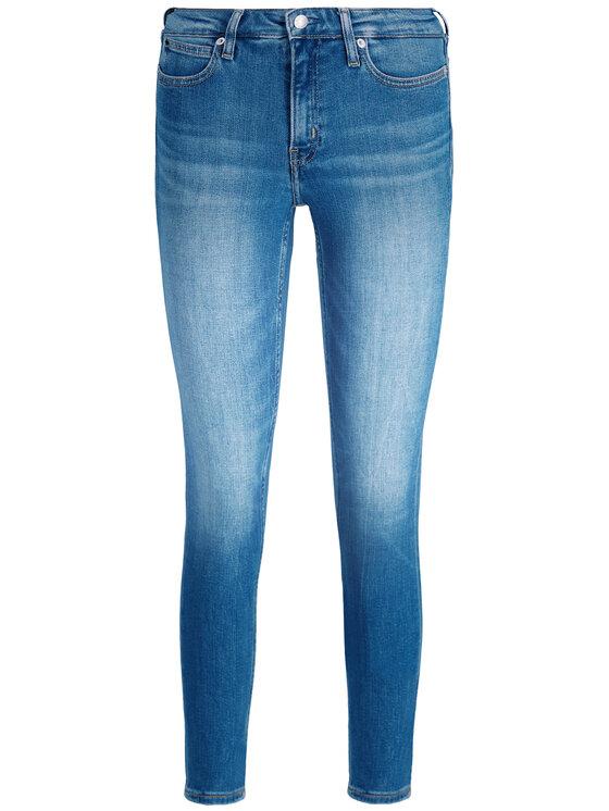 Calvin Klein Jeans Calvin Klein Jeans Jeansy Slim Fit J20J211391 Niebieski Skinny Ankle Fit
