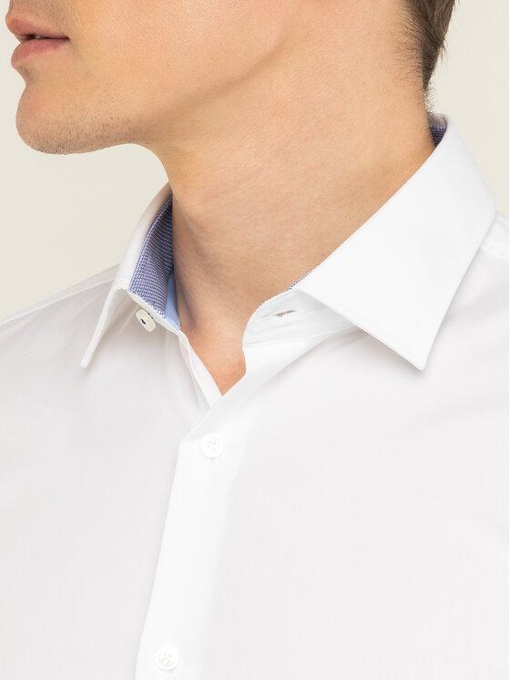 Boss Boss Koszula Joram 50427552 Biały Slim Fit