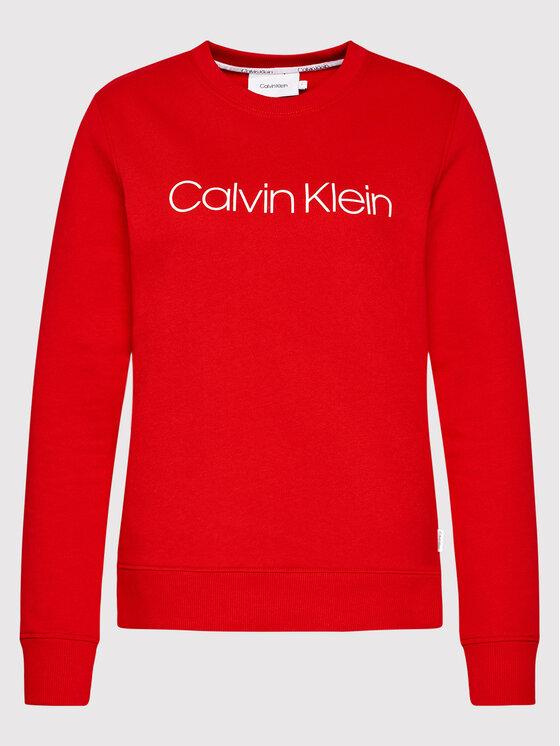 Calvin Klein Calvin Klein Суитшърт Core Logo K20K202157 Червен Regular Fit