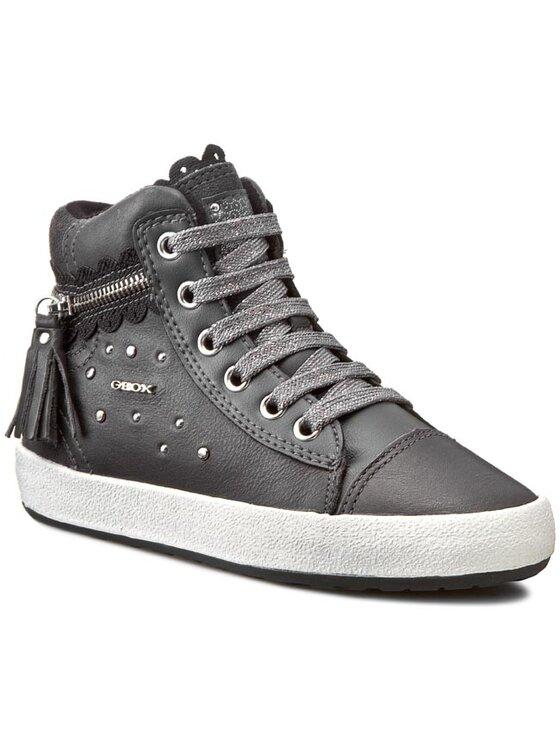 Geox Geox Κλειστά παπούτσια J Witty D J54C8D 04322 C9002 Γκρι