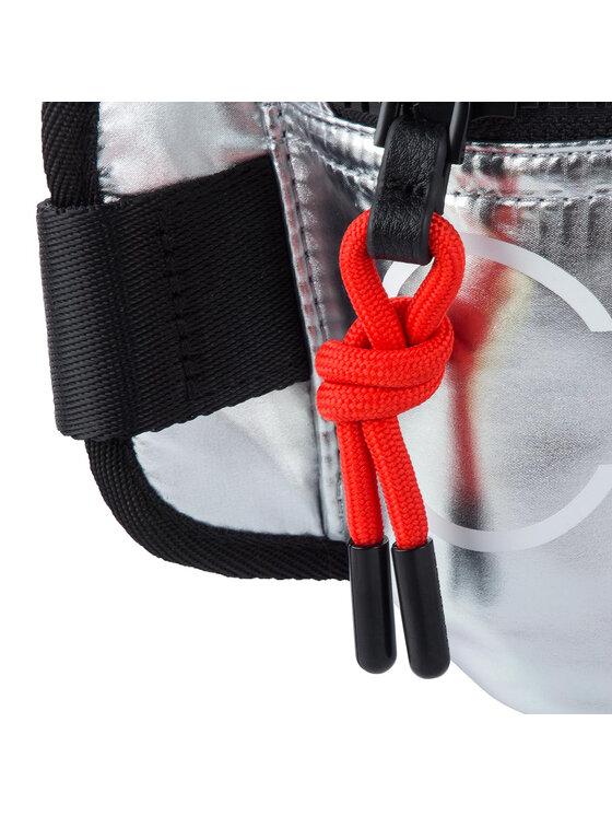Calvin Klein Calvin Klein Saszetka nerka Trail + Waistbag K50K504710 Srebrny