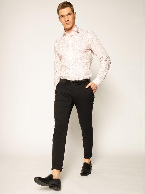 Strellson Strellson Koszula Sereno 30020147 Biały Slim Fit