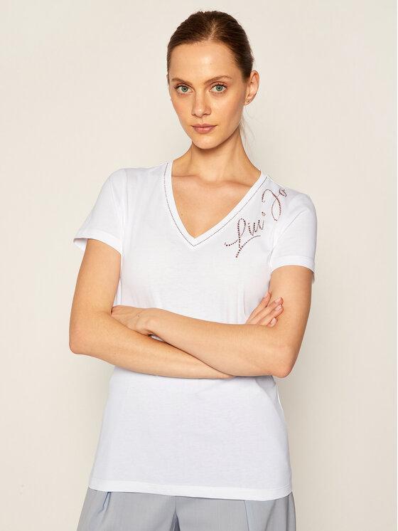 Liu Jo Liu Jo T-Shirt WF0487 J5703 Bílá Regular Fit