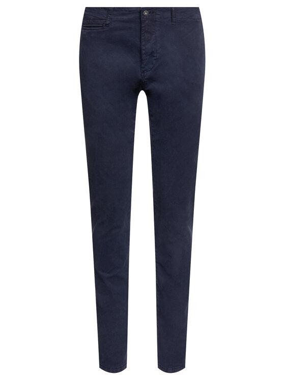 Napapijri Napapijri Текстилни панталони Mana Stretch N0YI5N Тъмносин Slim Fit
