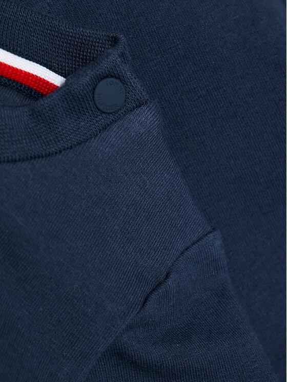 Tommy Hilfiger Tommy Hilfiger Bluza Baby Essential KN0KN01279 Granatowy Regular Fit