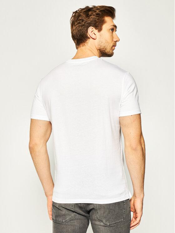 Armani Exchange Armani Exchange T-Shirt 3HZTHM ZJ5EZ 1100 Weiß Regular Fit