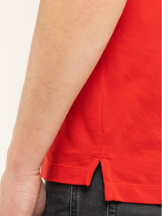 Boss Boss Тениска с яка и копчета Parlay 73 50424202 Червен Regular Fit