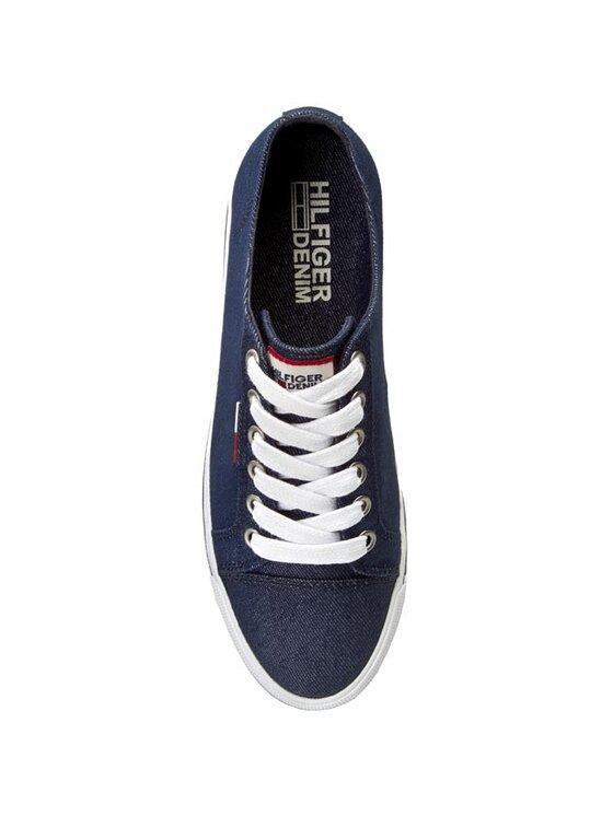 Tommy Hilfiger Tommy Hilfiger Πάνινα παπούτσια DENIM Lyon 8D EN56821014 Σκούρο μπλε