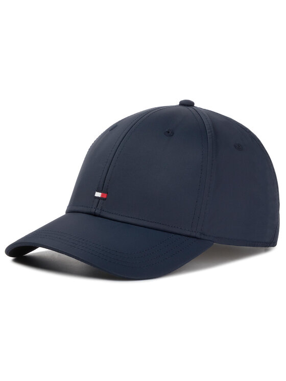 Tommy Hilfiger Tommy Hilfiger Καπέλο Jockey Bb Cap Tailored AM0AM05021 Σκούρο μπλε