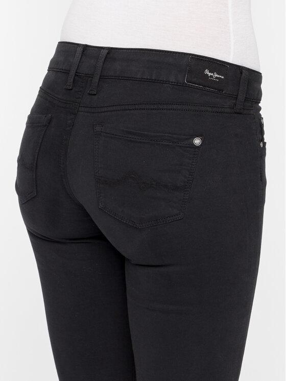 Pepe Jeans Pepe Jeans Дънки Skinny Fit PL210804U910 Черен Skinny Fit
