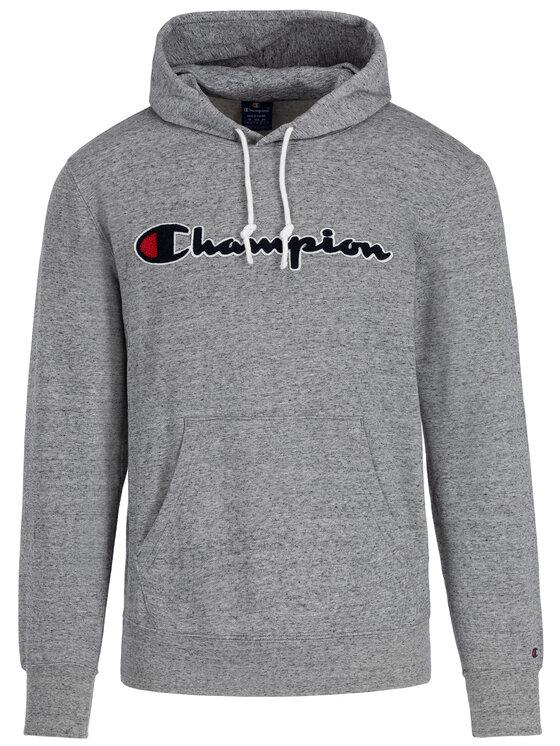 Champion Champion Суитшърт 212940 Сив Comfort Fit