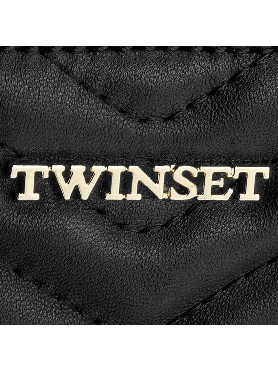 TwinSet TwinSet Borsa Tris Di Beauty AA7PAG Nero