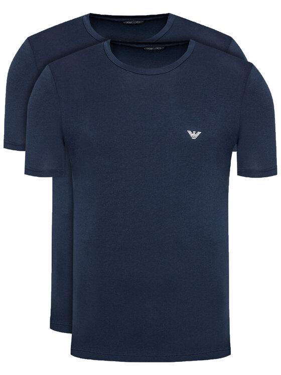 Emporio Armani Underwear 2 marškinėlių komplektas 111267 1P720 27435 Tamsiai mėlyna Regular Fit