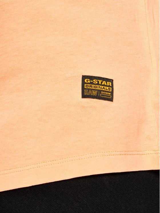 G-Star Raw G-Star Raw Tricou Lash Fem Wmn D16902-4107-B454 Portocaliu Loose Fit